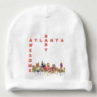 Gorro Para Bebê A skyline de Atlanta Geórgia SG-Desvaneceu-se