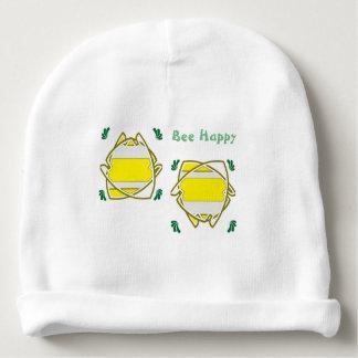 Gorro Para Bebê Abelha feliz - boné do babee