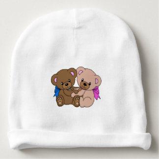 Gorro Para Bebê Abraçando ursos de ursinho