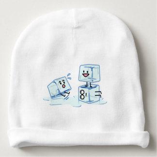 Gorro Para Bebê água gelada do cubo dos cubos de gelo que desliza