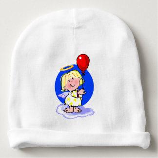 Gorro Para Bebê Anjo bonito e balão vermelho