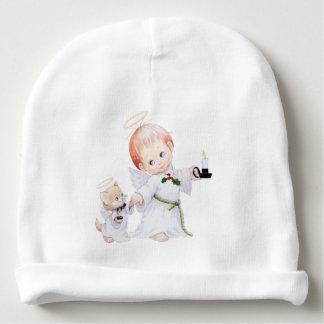 Gorro Para Bebê Anjo bonito e gato do bebê