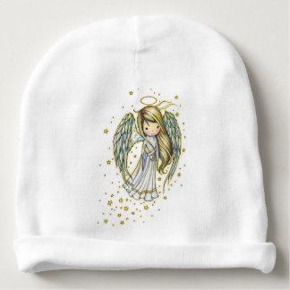 Gorro Para Bebê Anjo pequeno bonito nas estrelas