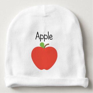 Gorro Para Bebê Apple vermelho