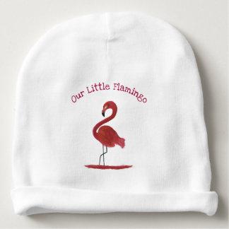 Gorro Para Bebê Arte cor-de-rosa feita sob encomenda Feathery