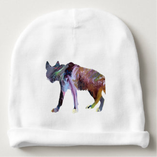 Gorro Para Bebê Arte da hiena