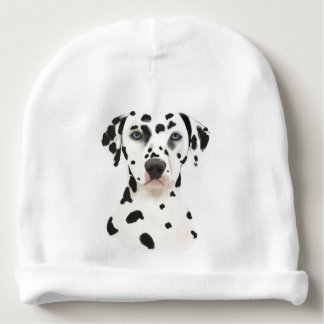 Gorro Para Bebê Arte Dalmatian do cão