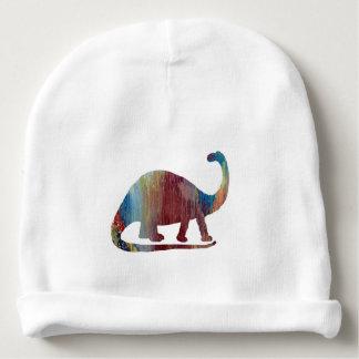 Gorro Para Bebê Arte do Brontosaurus