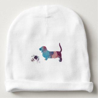 Gorro Para Bebê Arte do cão de Basset