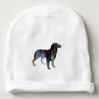 Gorro Para Bebê Arte do cão de Brittany
