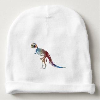 Gorro Para Bebê Arte do esqueleto do rex do tiranossauro