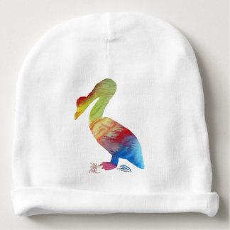 Gorro Para Bebê Arte do pelicano