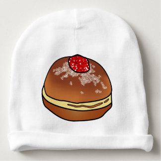 Gorro Para Bebê Artigo do bebê da rosquinha da geléia de Hanukkah