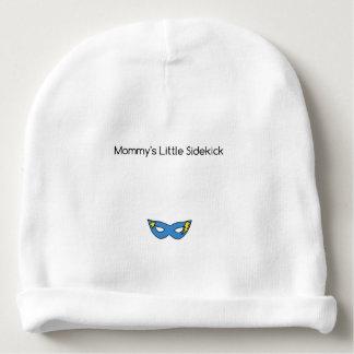 Gorro Para Bebê Azul pequeno da máscara do super-herói do ajudante