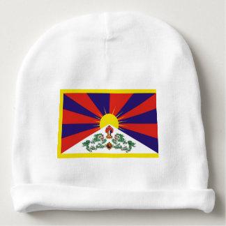 Gorro Para Bebê Bandeira da bandeira do leão de Tibet ou de neve