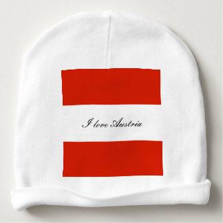 Gorro Para Bebê Bandeira de Áustria