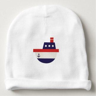 Gorro Para Bebê Barco a vapor do pescador