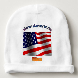 Gorro Para Bebê Beanie americano novo do bebê do cidadão