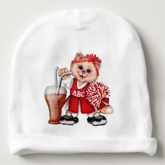 Gorro Para Bebê Beanie BONITO do algodão do bebê do CHEERLEADER do