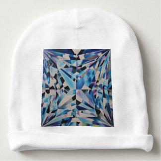 Gorro Para Bebê Beanie de vidro do algodão do bebê do diamante