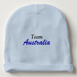 Gorro Para Bebê Beanie do algodão de Austrália da equipe