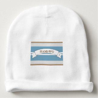 Gorro Para Bebê Beanie do algodão do bebê de HAMbyWG - a listra