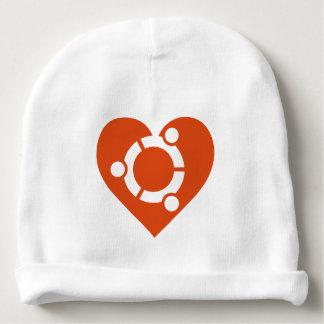 Gorro Para Bebê Beanie do bebê de Ubuntu