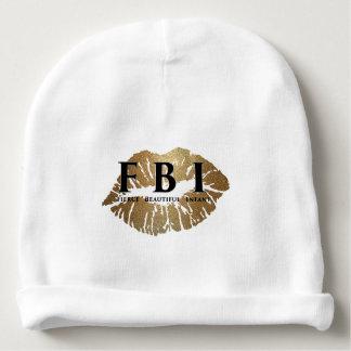Gorro Para Bebê Beanie do bebê do FBI