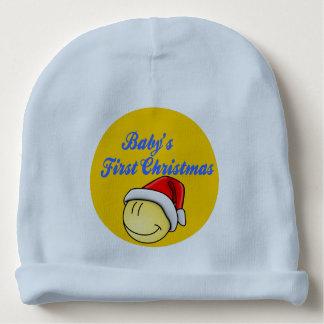 Gorro Para Bebê Beanie do Natal do bebê primeiro