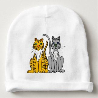 Gorro Para Bebê Beanie elegante do bebê dos gatos