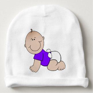 Gorro Para Bebê Beanie feito sob encomenda do algodão do bebê