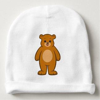 Gorro Para Bebê Beanie feliz do bebê do urso dos desenhos animados