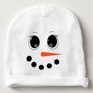 Gorro Para Bebê Beanie personalizado do chapéu do bebê de Snowgirl