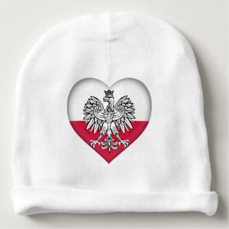 Gorro Para Bebê Beanie polonês do amor