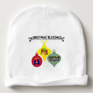 Gorro Para Bebê Bênção do Natal