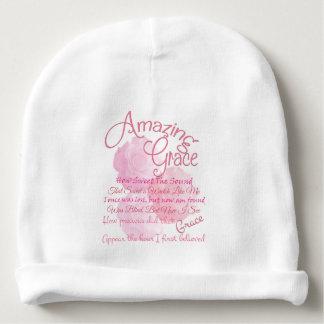 Gorro Para Bebê Benevolência surpreendente com os rosas
