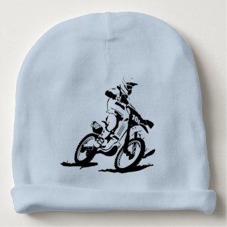 Gorro Para Bebê Bicicleta e cavaleiro simples de Motorcross