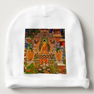Gorro Para Bebê Budismo budista de Buddha que abençoa o Bohemian