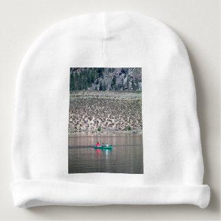 Gorro Para Bebê Canoe o rio de Similkameen dentro BC, Canadá
