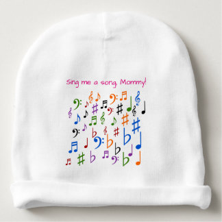 Gorro Para Bebê Cante-me uma canção, mamãe!