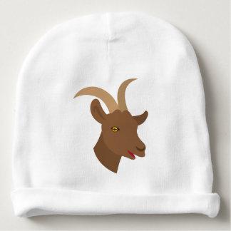 Gorro Para Bebê cara bonito masculina da cabra