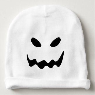 Gorro Para Bebê Cara do fantasma do Dia das Bruxas