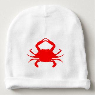 Gorro Para Bebê Caranguejo vermelho