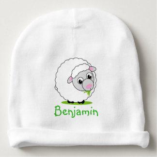 Gorro Para Bebê Carneiros woolly brancos bonitos e peluches do