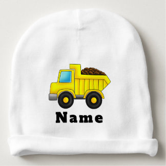 Gorro Para Bebê Carro personalizado do caminhão da construção