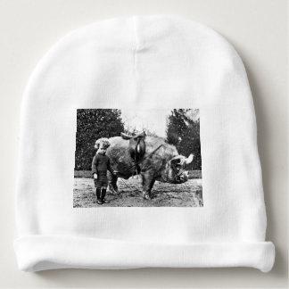 Gorro Para Bebê Cavaleiro do porco
