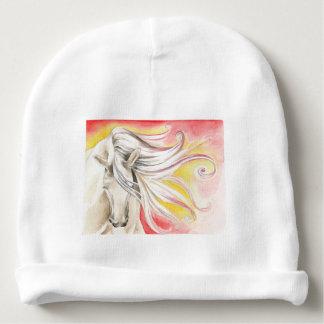 Gorro Para Bebê Cavalo andaluz da luz do sol
