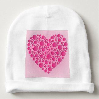 Gorro Para Bebê Cervo cor-de-rosa da bolha