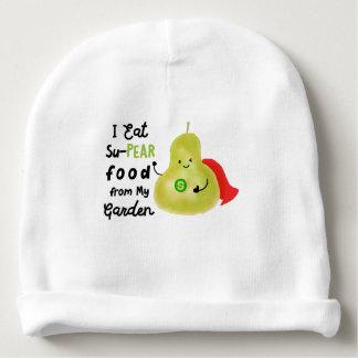 Gorro Para Bebê Chalaça positiva da pera - comida de SuPear de meu