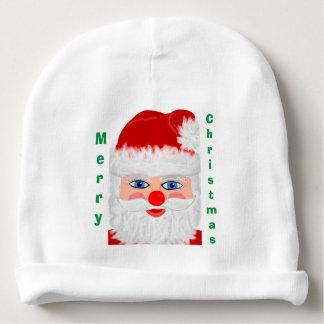 Gorro Para Bebê Chapéu alegre do bebê de Papai Noel do Feliz Natal